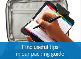 Find useful tips in our package guide
