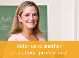 Refer us to another educational professional